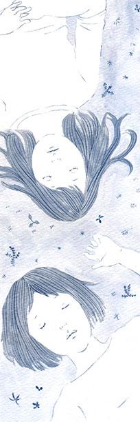 加納朋子さん「萌木の山の眠り姫」挿絵