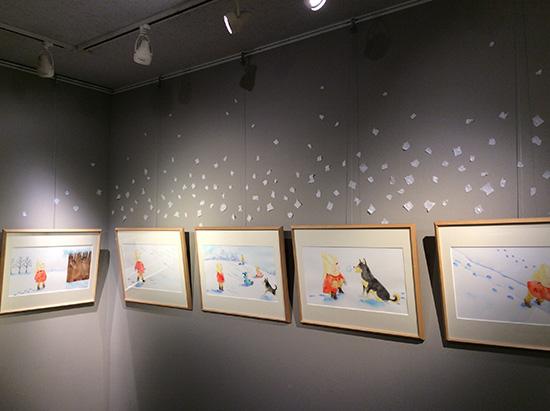 「ゆきみちさんぽ」原画展 ブックハウス神保町