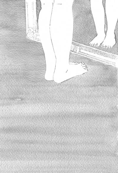 鏡のジェミニ 扉絵