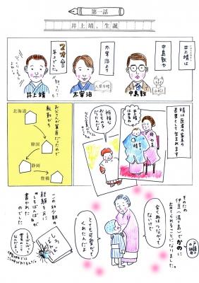まんがで読む井上靖1