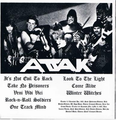 ATTAK/Veni Vidi Vici,レア音源ヘヴィメタル