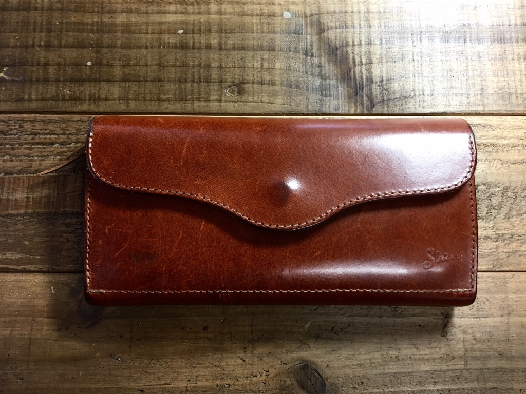 マレンマ革財布の傷の処置