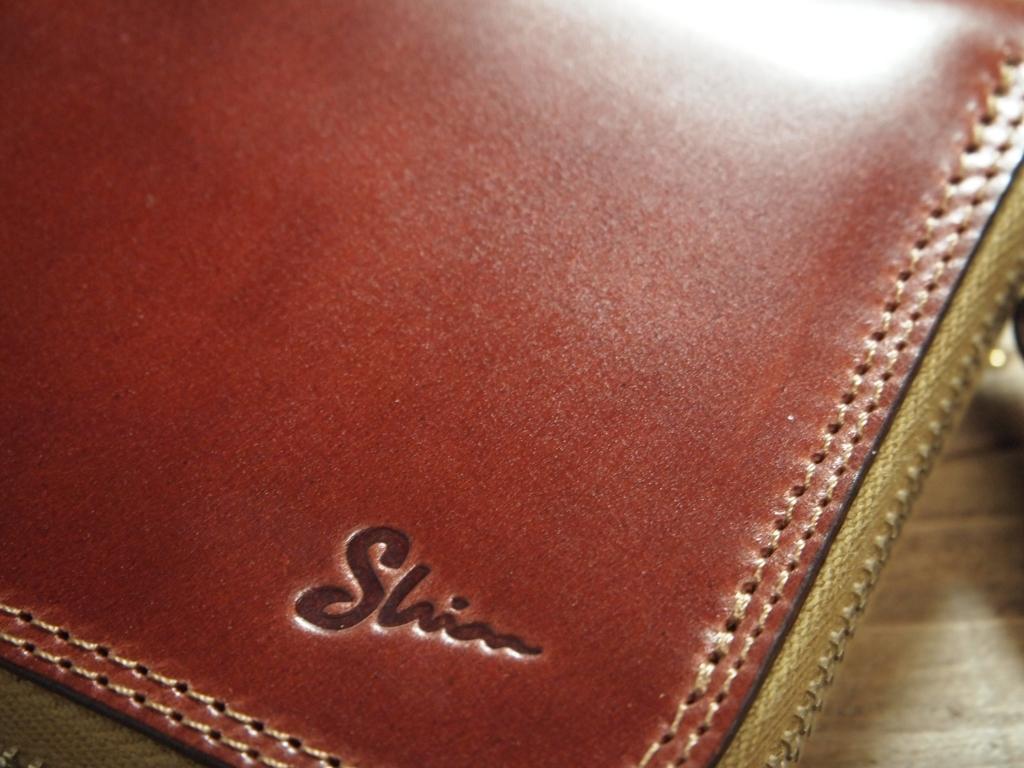 オイルコードバンの財布