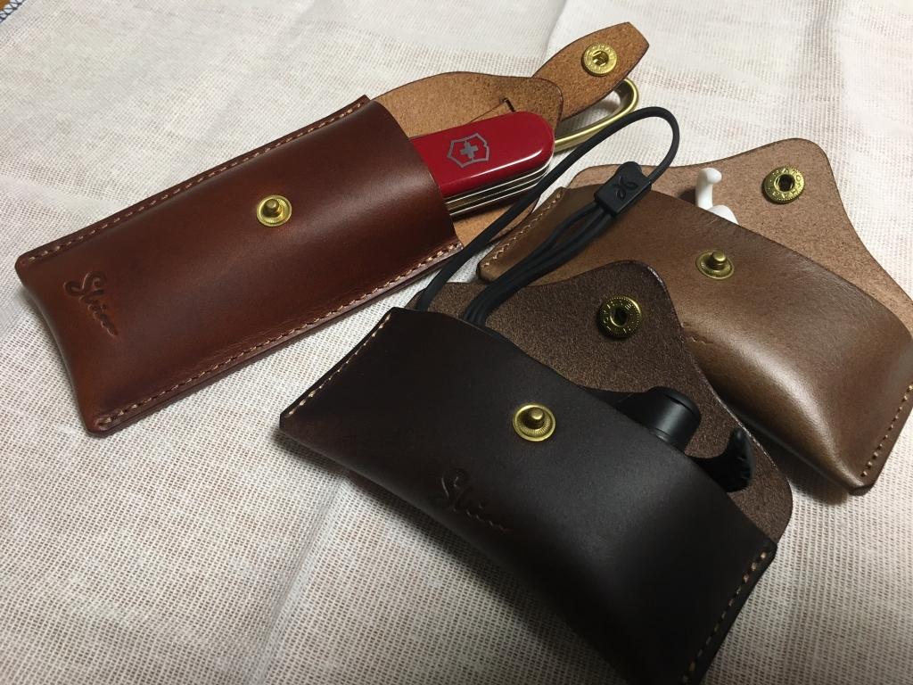 glo(グロー)用革製携帯灰皿(吸い殻入れ)