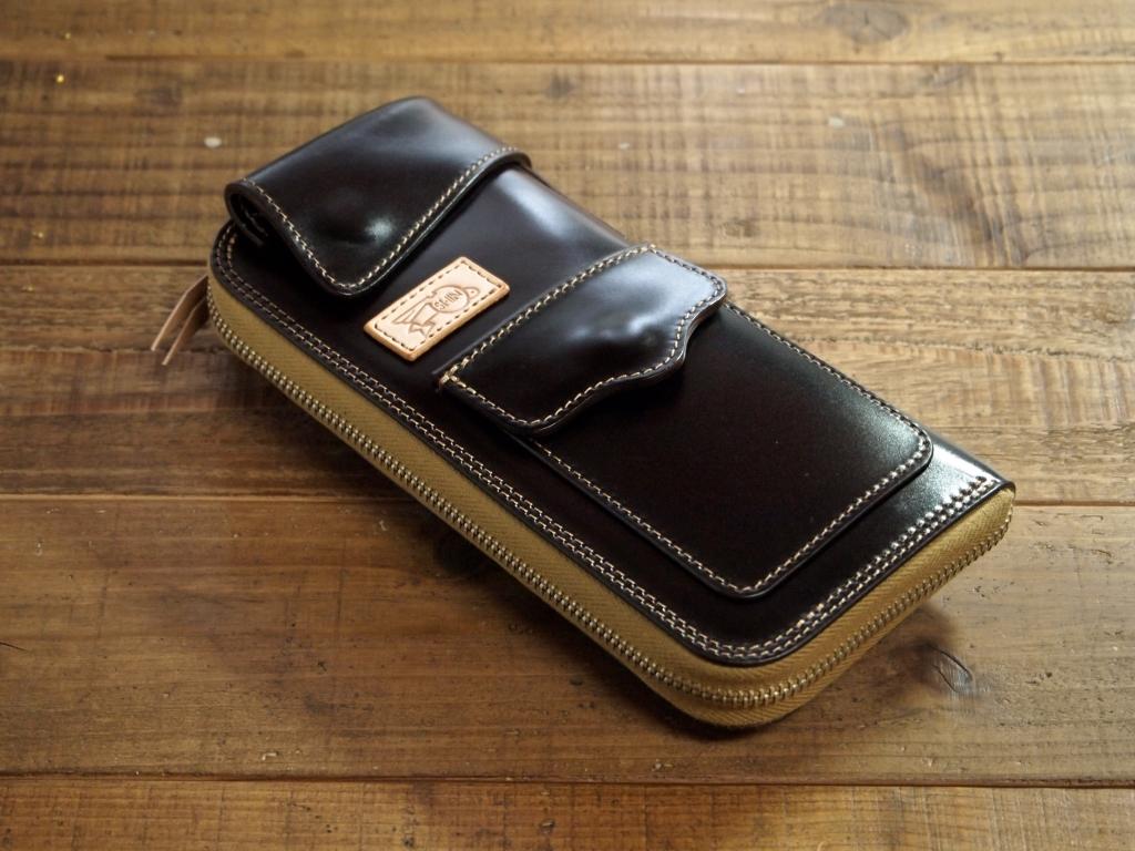 レーデルオガワコードバンの財布(フライトウォレット)