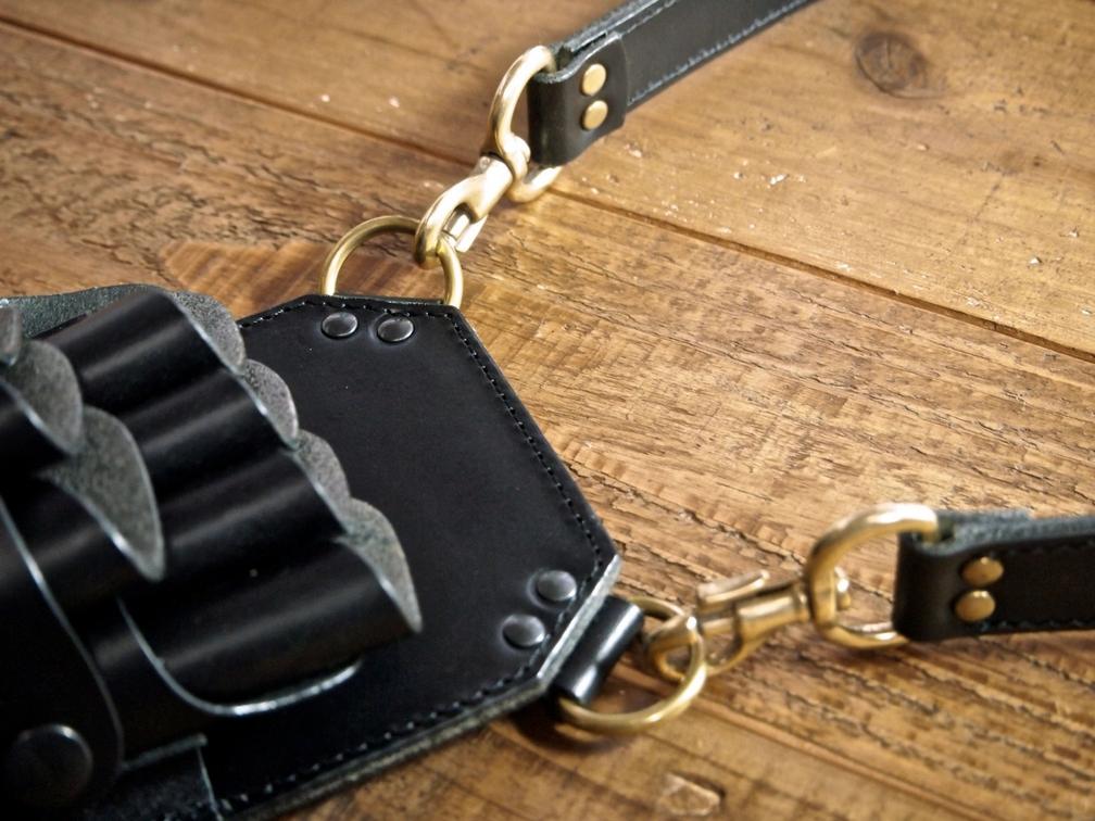 革製(ブッテーロ)のシザーケース