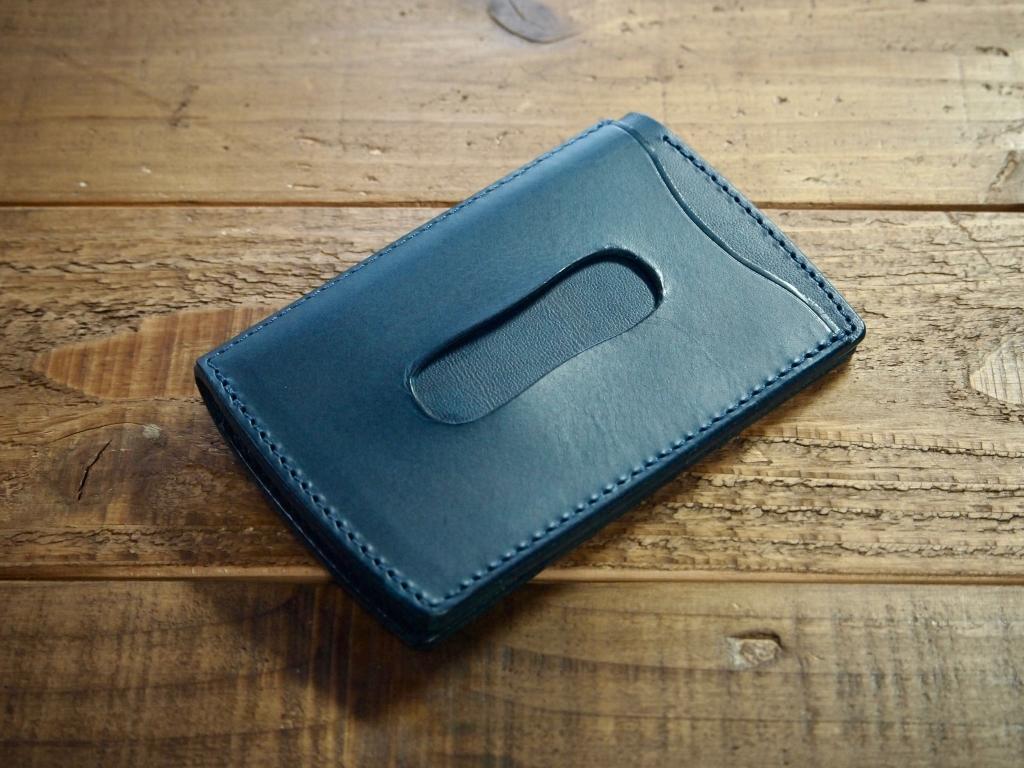 ブッテーロの青いパスケース