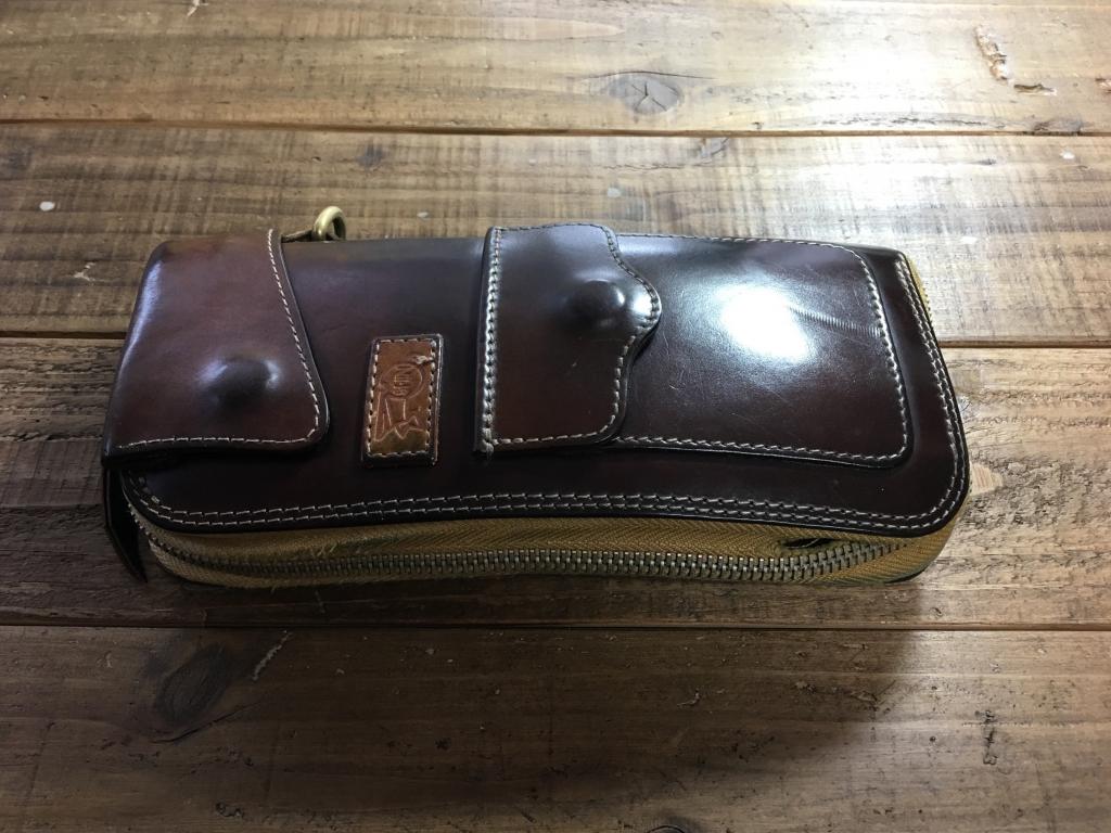 財布修理(コードバンフライトウォレット )