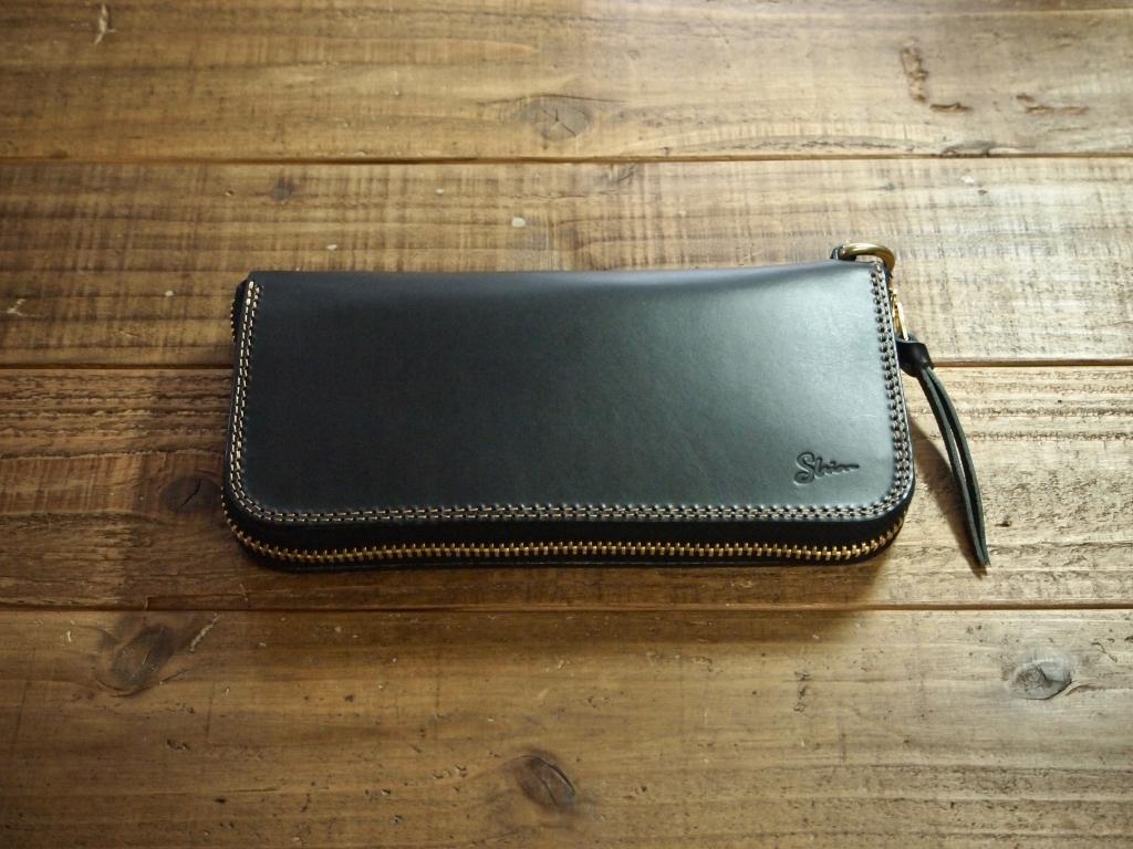 タロン(TALON)ファスナーを使ったラウンドファスナー革財布