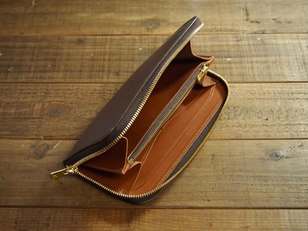 エルバマット(テンペスティ社)を使ったお財布