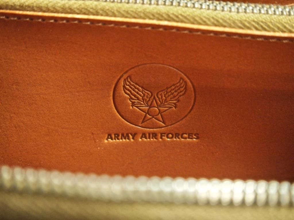 コードバンの長財布(フライトウォレット A2)