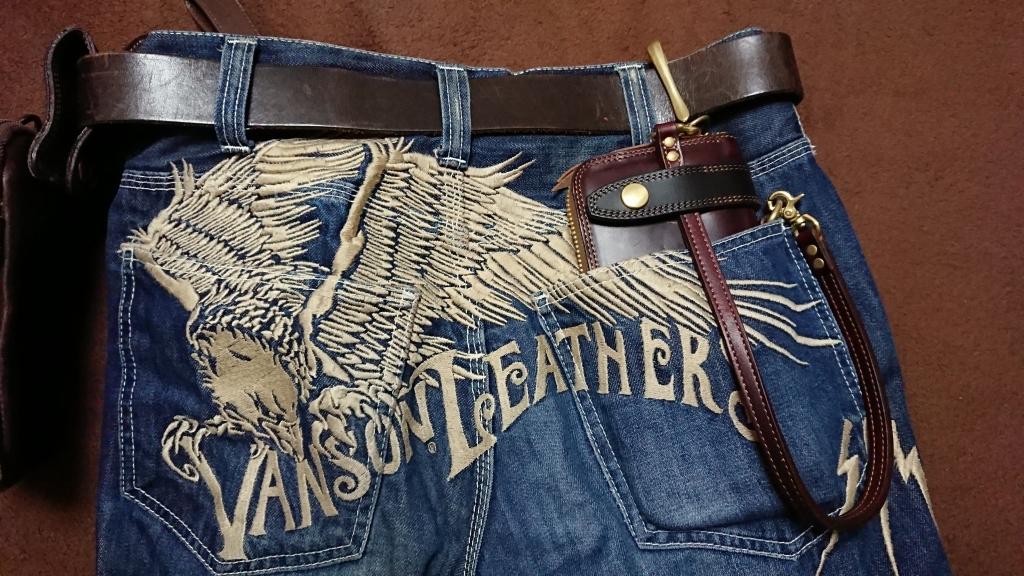 クロムエクセルの長財布(フライトウォレット)