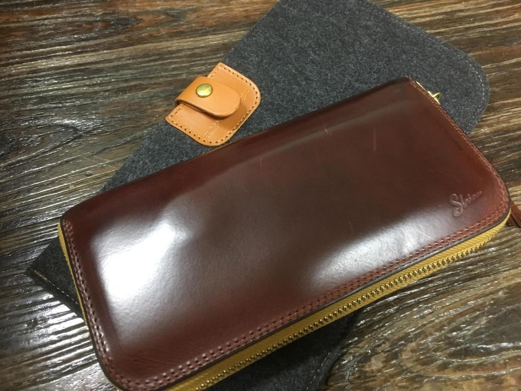 マレンマの長財布(ラウンドファスナーウォレット)