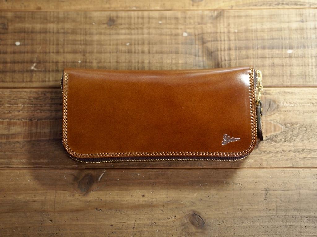 コードバンの長財布(ラウンドファスナーウォレットLTD)