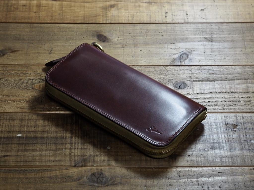 マレンマの長財布(エイジング)