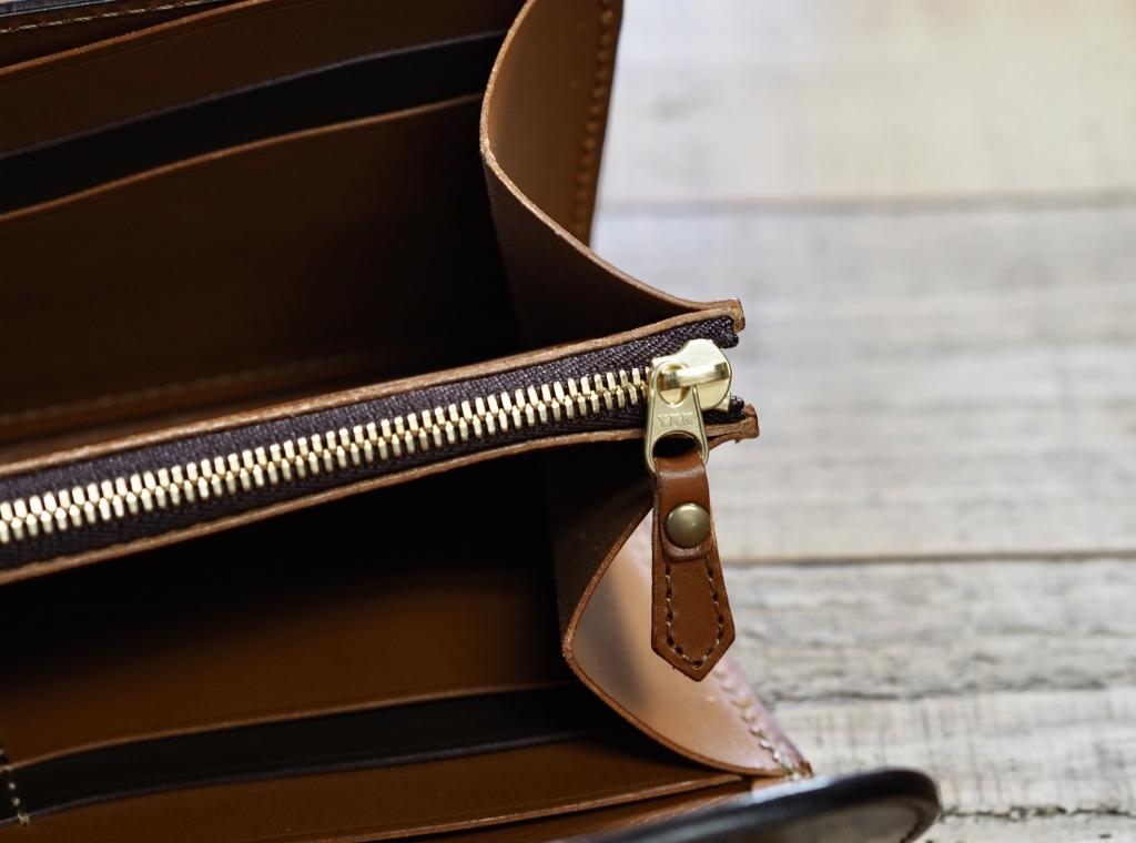 コードバンの革財布(フラップウォレット)カスタム