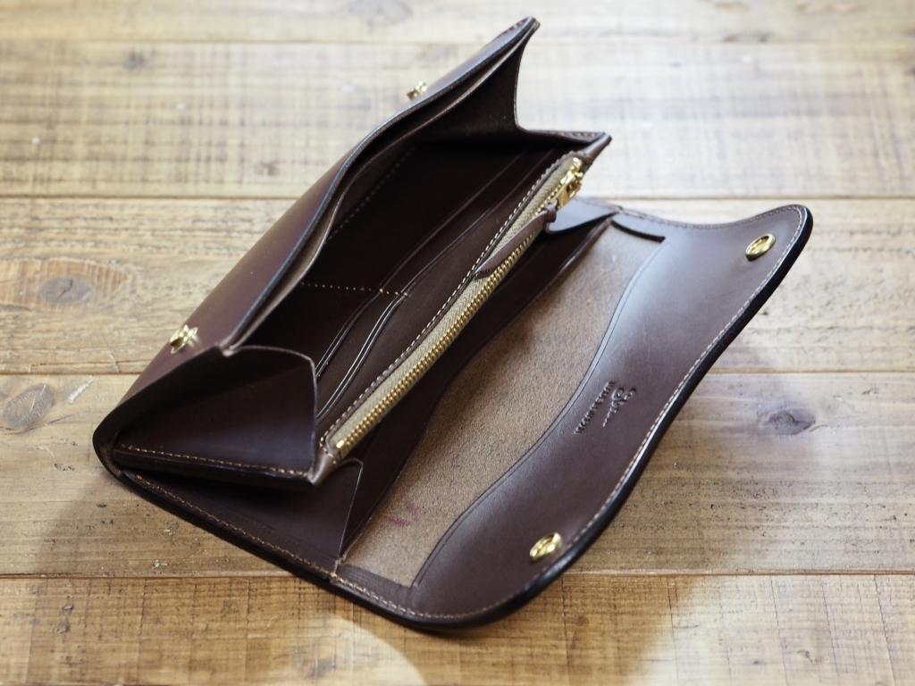 クロムエクセルの革財布