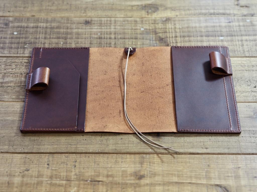 革のほぼ日手帳カバー