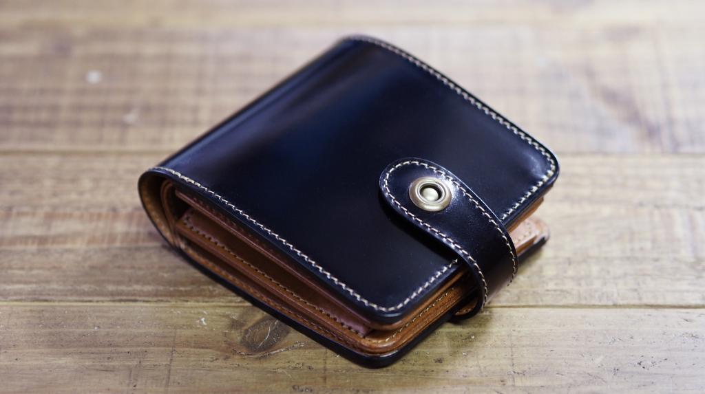 コードバン革財布