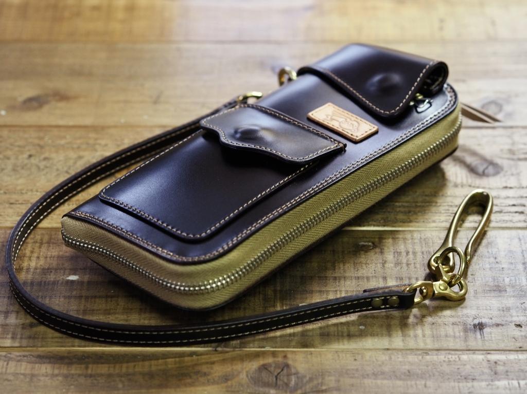 コードバン革財布(フライトウォレット)