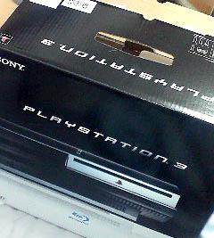 PS3買ってきた