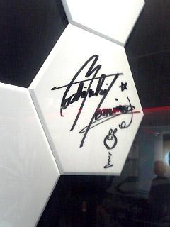 富野由悠季氏のサイン