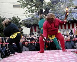 廬山寺-鬼踊り02