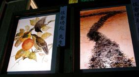妙蓮寺・万灯会_小鳥と橋立