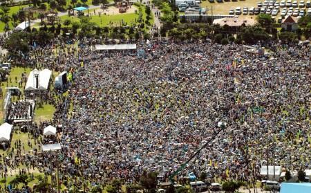 集団自決県民大会