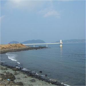 波戸岬、海中展望台