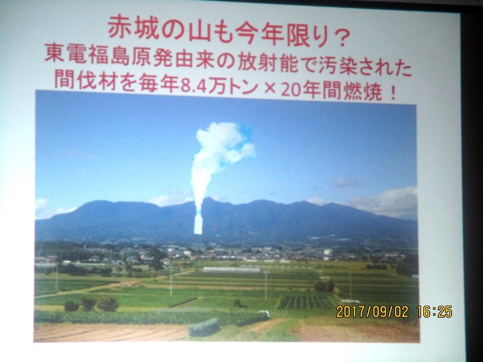放射能汚染の危機が
