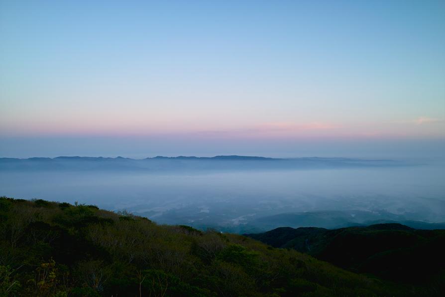 霧の国仲平野