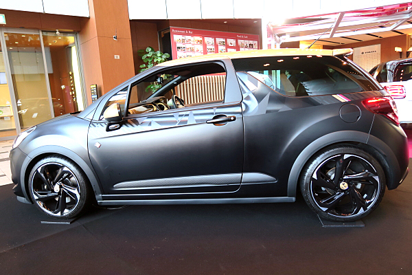 ds3 citroen ds3 perfomance black special car and moto in japan. Black Bedroom Furniture Sets. Home Design Ideas