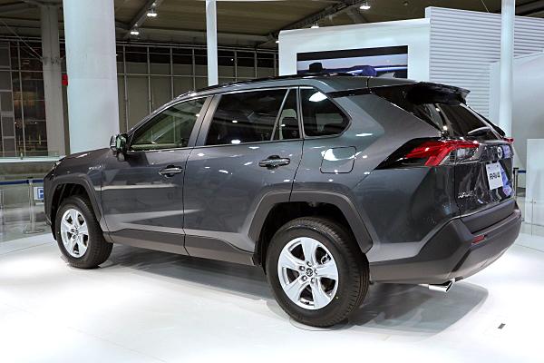 トヨタ Rav4 ハイブリッド X グレー Toyota Rav4 Hybrid X Gray Car