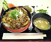 野菜牛とじ丼