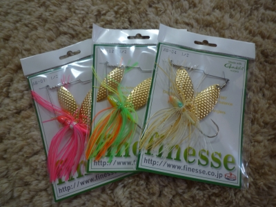 FINESSE SPINNERBAITS 2
