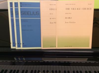 シベリウス楽譜