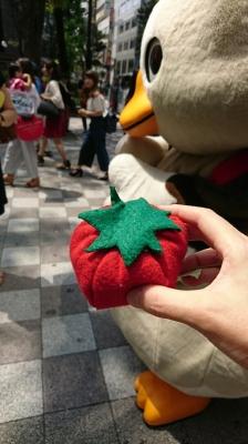パタ崎さんとトマト