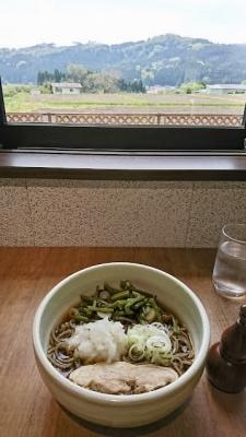 山菜ぶっかけ