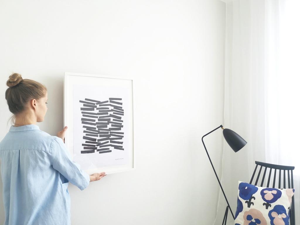 フィンランドのモダンなアートポスター