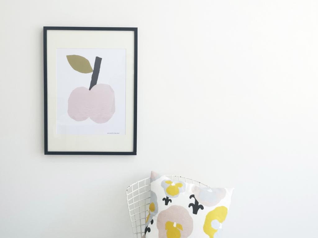 果物がかわいいフルーツ柄のポスター