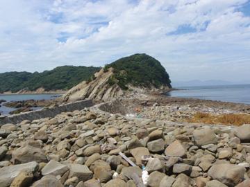 虎島への道