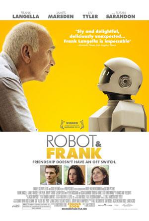 おじいちゃんとロボットの友情物語?「Robot and Frank」
