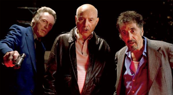 アル・パチーノ、クリストファー・ウォーケン、アラン・アーキンの新作「Stand Up Guys」が楽しみだね!