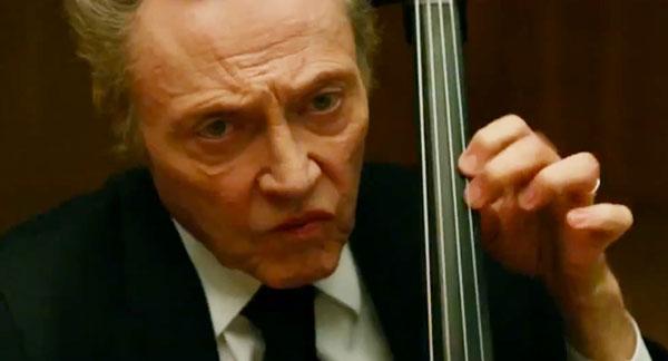 クリストファー・ウォーケンとフィリップ・シーモア・ホフマンの新作「A Late Quartet」の予告だよ!