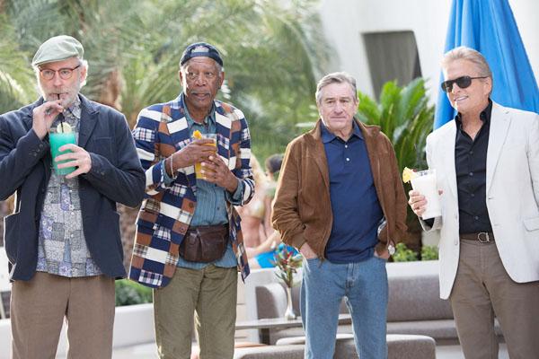 おじいちゃん版「ハングオーバー」? ロバート・デ・ニーロ、モーガン・フリーマン、マイケル・ダグラス、ケヴィン・クラインのコメディ「Last Vegas」の予告だよ