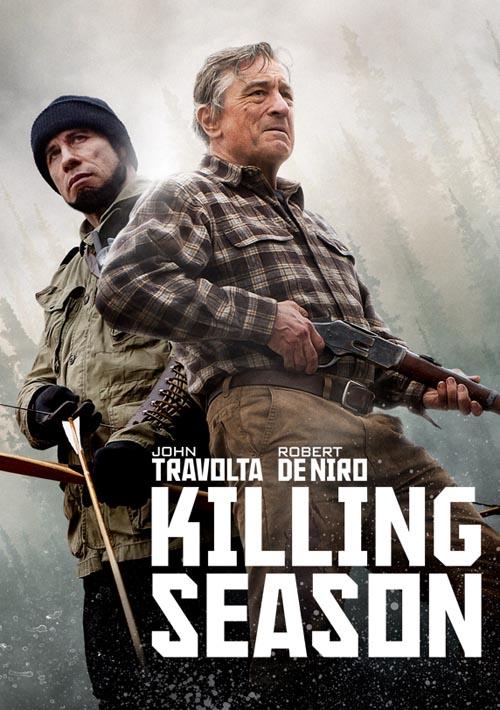 ロバート・デ・ニーロ&ジョン・トラボルタの「Killing Season」ポスターきたよ