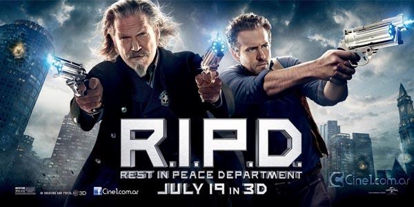 ジェフ・ブリッジスとライアン・レイノルズの「R.I.P.D.」予告編だよ