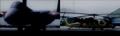 F-15とUH-60