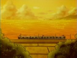 4両の電車